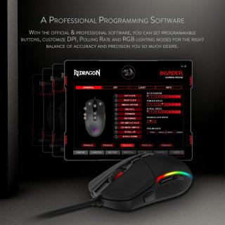 Miš Redragon Invader M719 - RGB