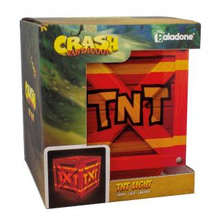 Lampa Crash Bandicoot TNT Light