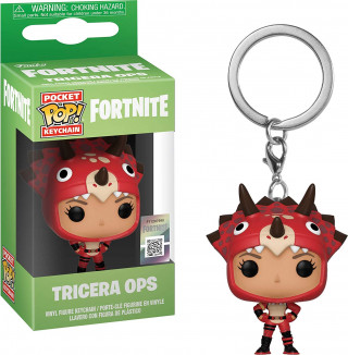 Privezak Fortnite POP! - Tricera Ops