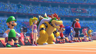 Switch Mario and Sonic at the Olympic Games Tokyo 2020