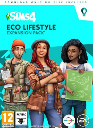 PCG The Sims 4 - Expansion Eco Lifestyle