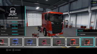 PS4 Truck Driver