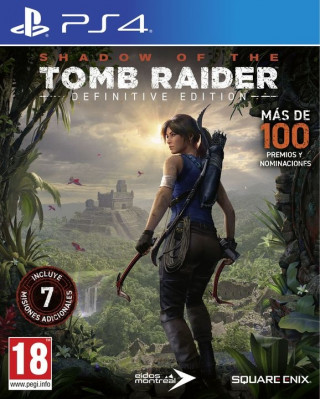 PS4 Shadow of the Tomb Raider - Definitive Edition
