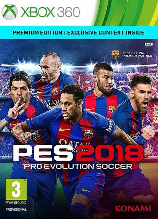 XB360 Pro Evolution Soccer 2018 - PES 2018