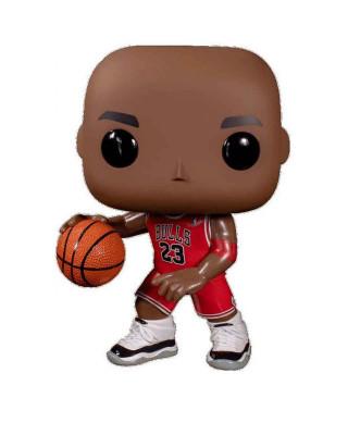 Bobble Figure NBA Bulls Oversized POP! - Michael Jordan (Red Jersey)