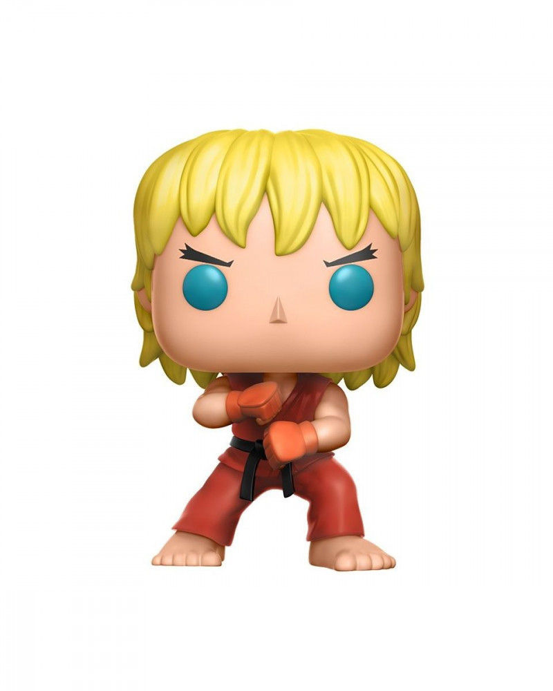 Bobble Figure Street Fighter POP! - Ken ( Special Attack )