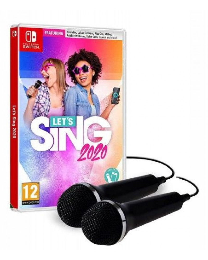 Switch Let's Sing 2020 + 2 Mikrofona