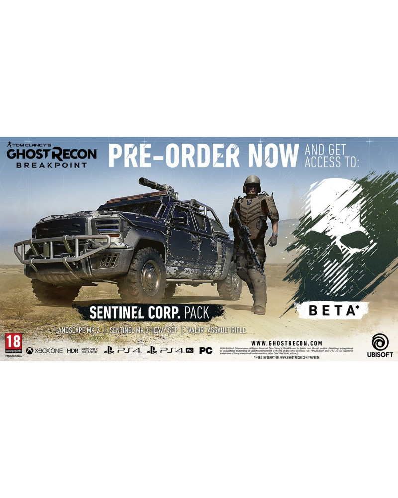 PS4 Tom Clancy's Ghost Recon Breakpoint - Auroa Edition