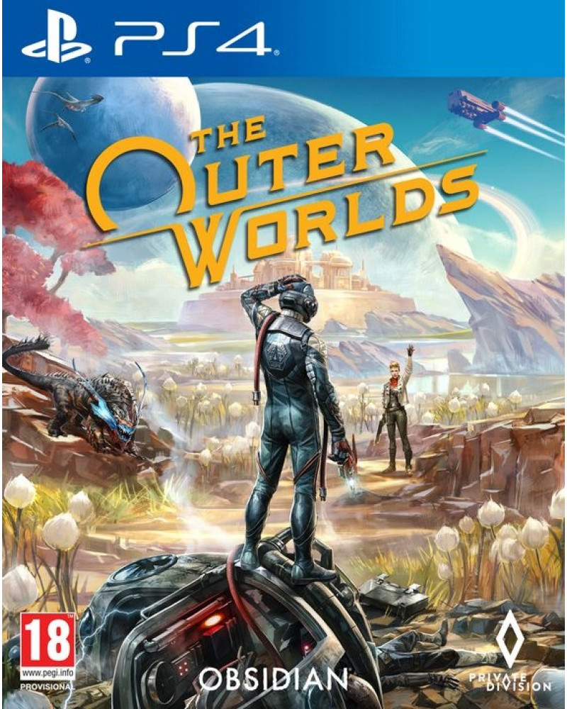 AKCIJA PS4 The Outer Worlds