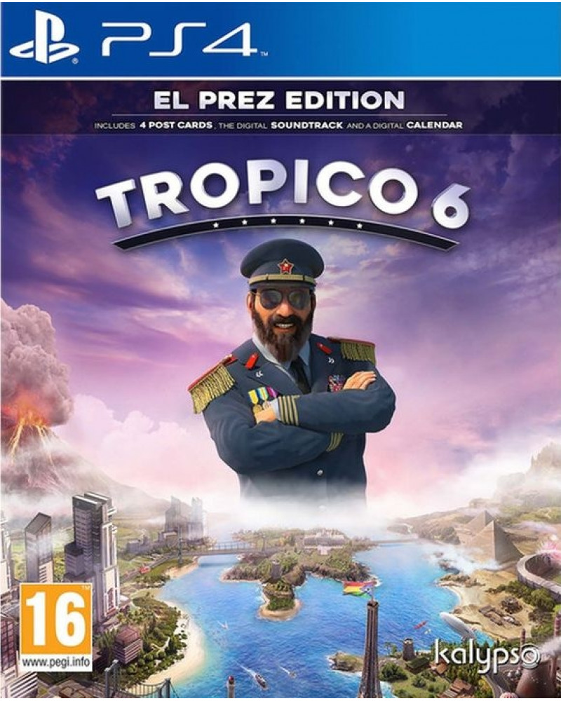 PS4 Tropico 6 - El Prez Edition