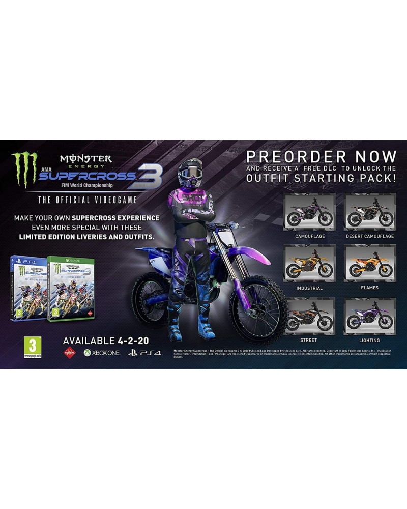 PS4 Monster Energy Supercross - The Official Videogame 3