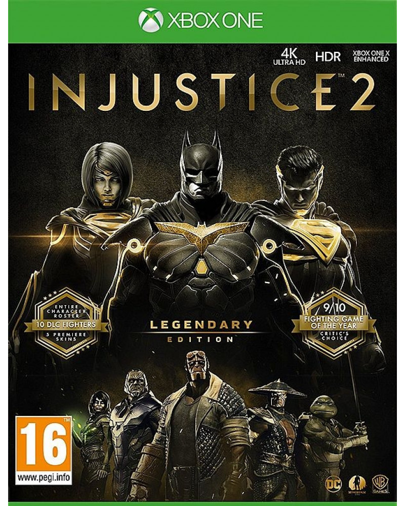 XBOX ONE Injustice 2 - Legendary Edition