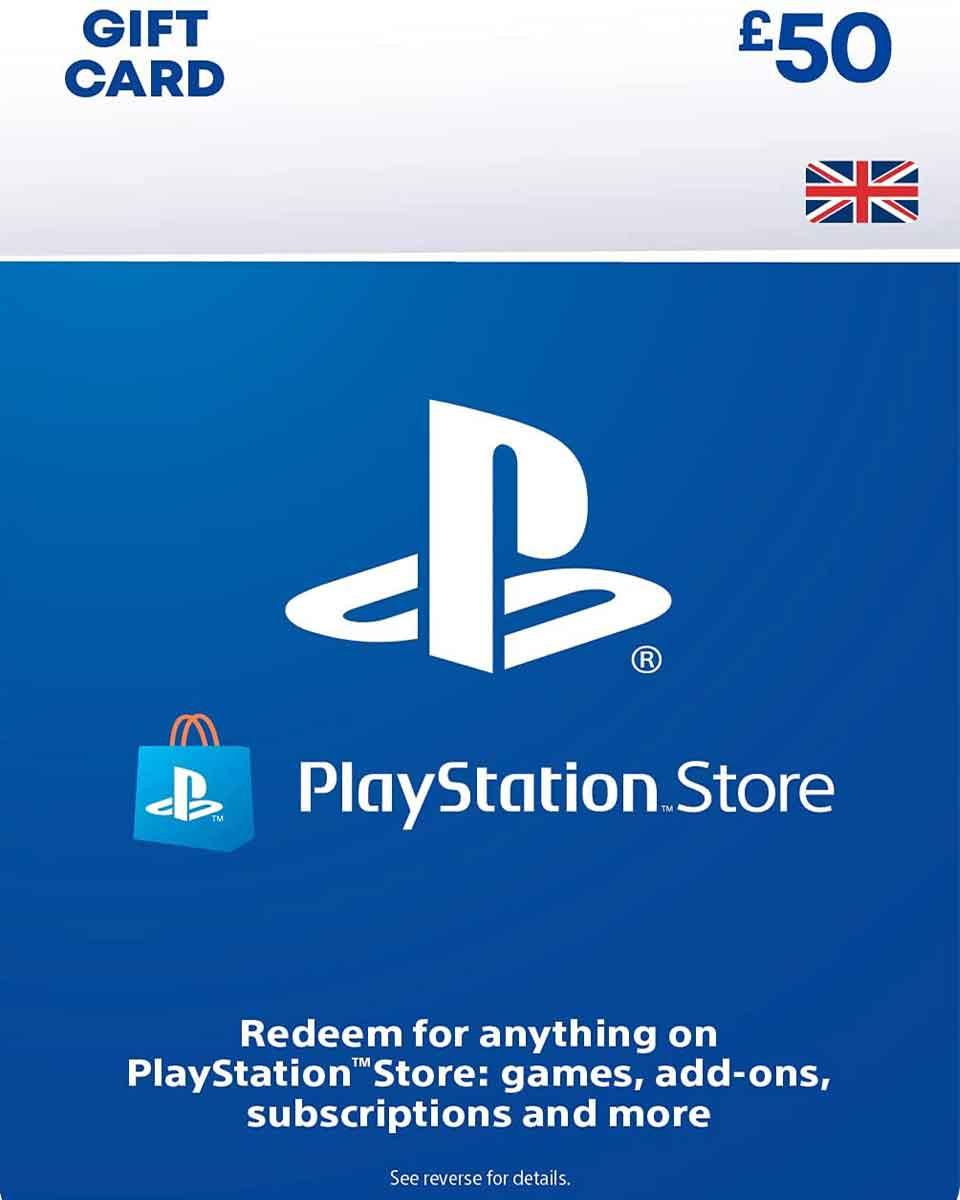 PlayStation Network PSN wallet £50