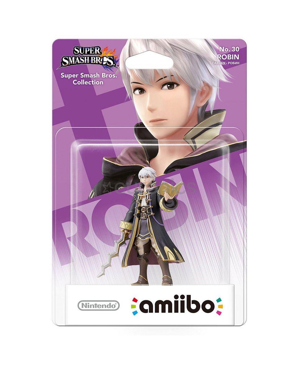Amiibo Super Smash Bros - Robin No.30