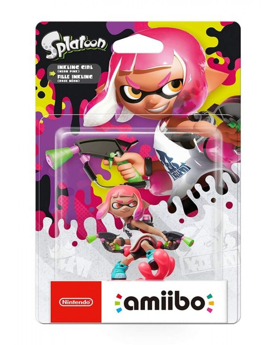 Amiibo Splatoon - Pink Girl