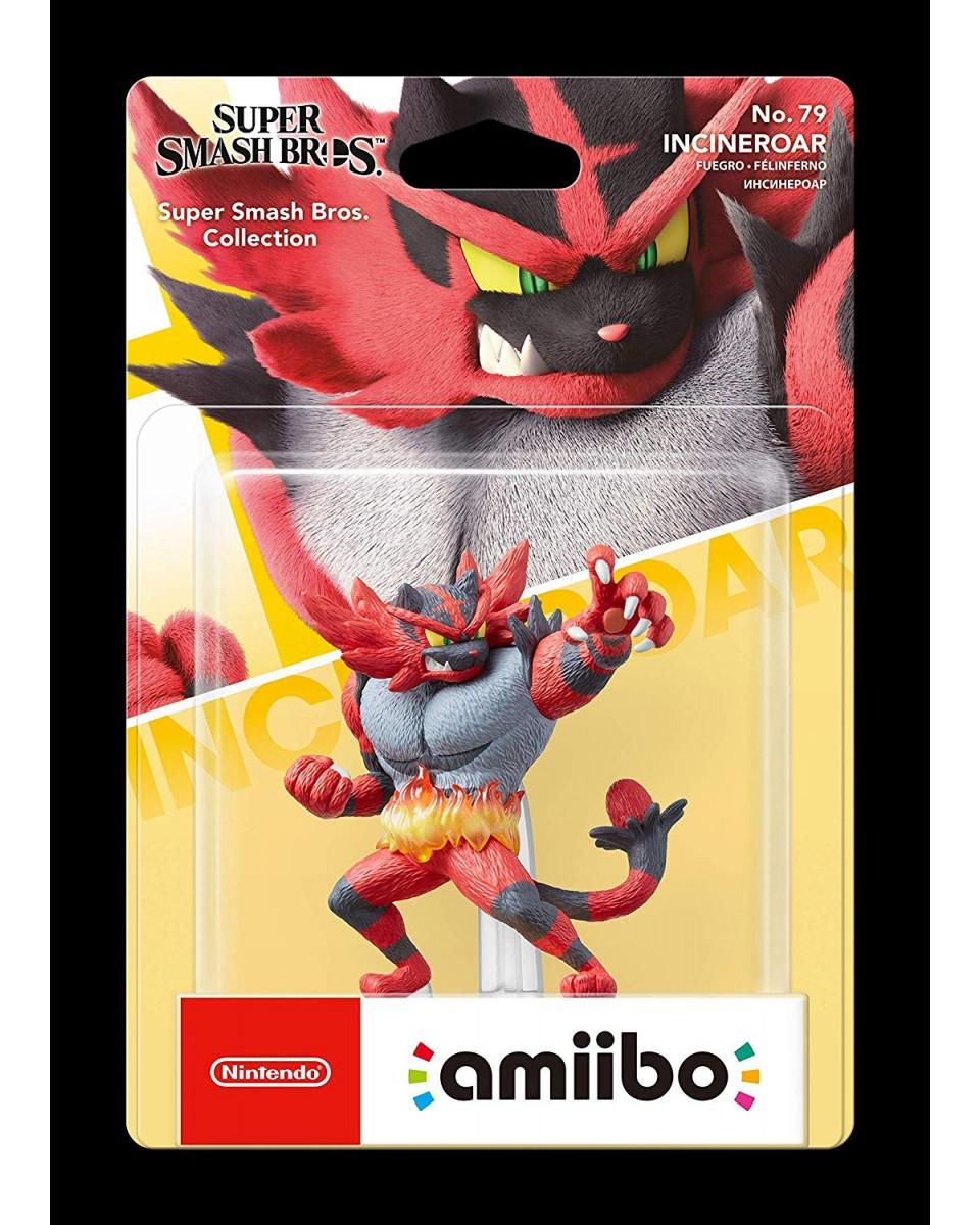 Amiibo Super Smash Bros - Incineroar