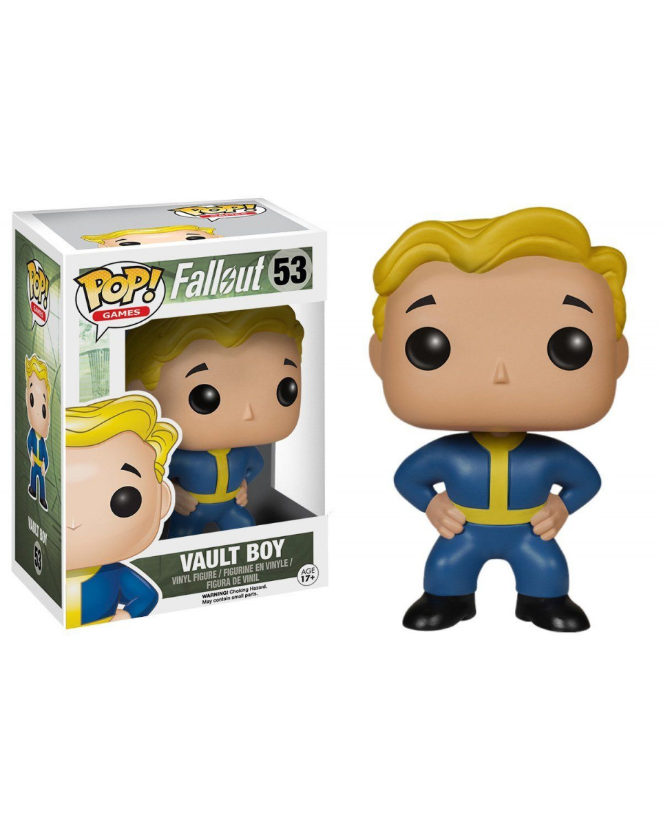 Bobble Figure Fallout POP! - Vault Boy