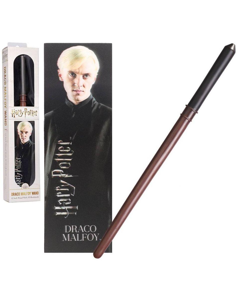 Čarobni štap i bukmarker Harry Potter - Draco Malfoy Wand