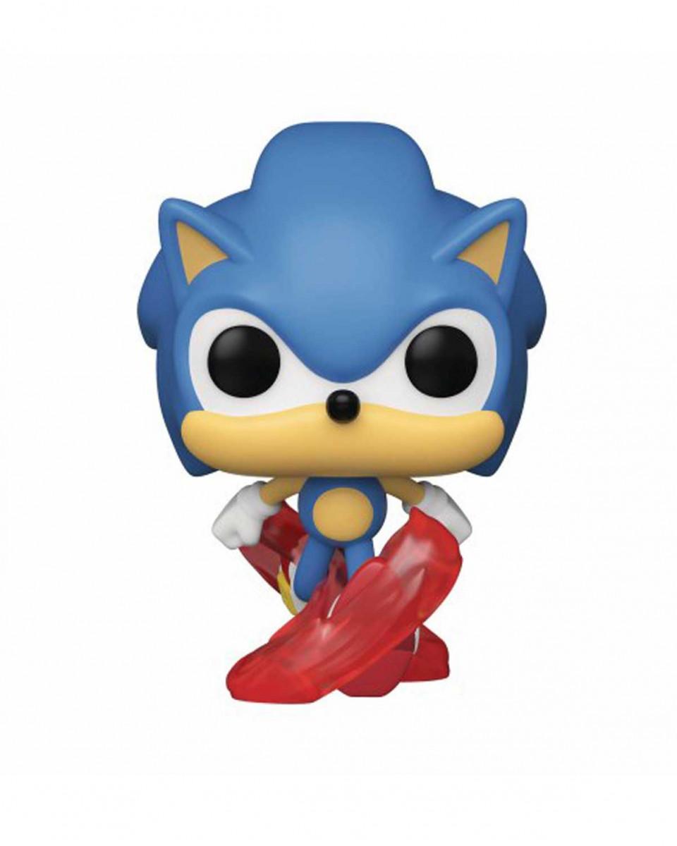 Bobble Figure Sonic the Hedgehog Sonic 30th POP! - Running Sonic