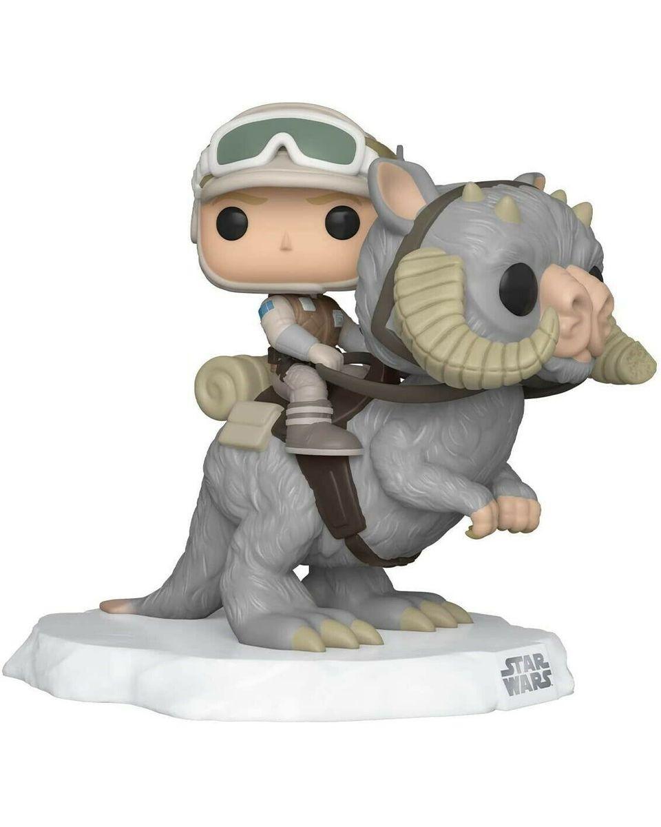 Bobble Figure Star Wars Deluxe POP! - Luke Skywalker with TaunTaun