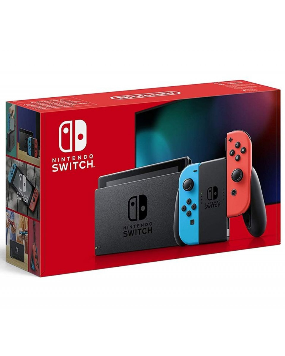 Konzola Nintendo Switch (Red and Blue Joy-Con)