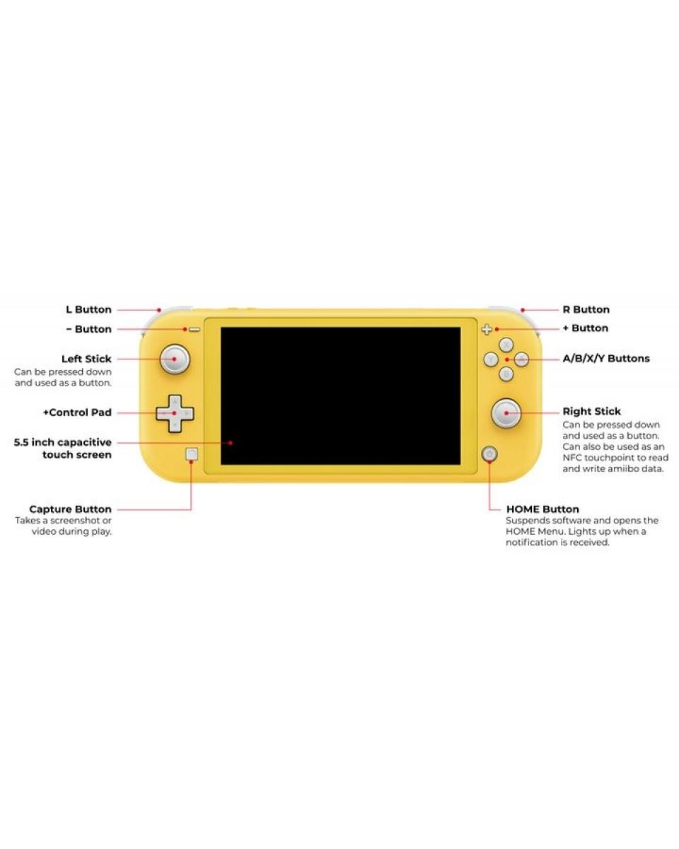 Konzola Nintendo Switch Lite - Turquoise