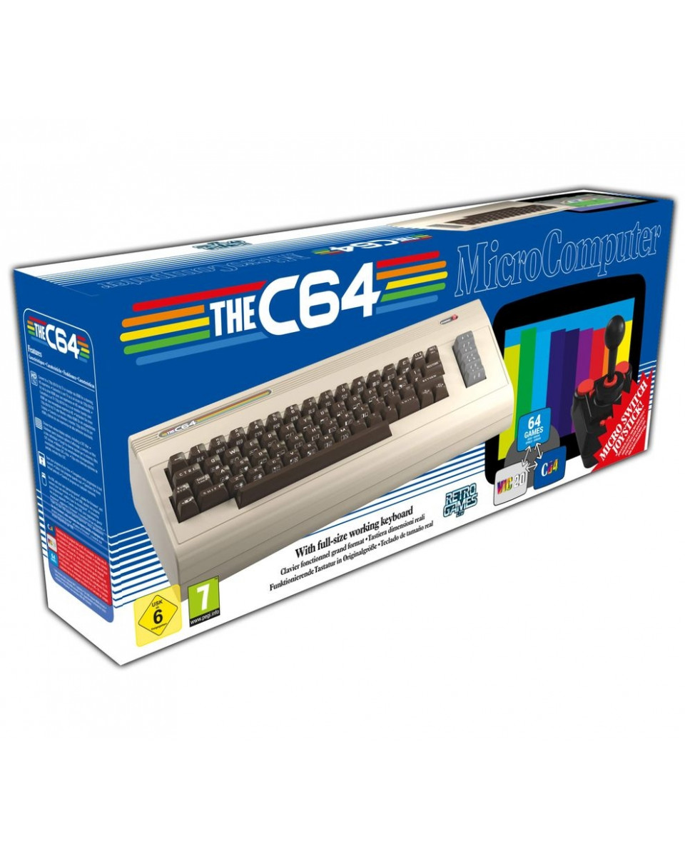 Konzola The C64 ( Commodore 64 )
