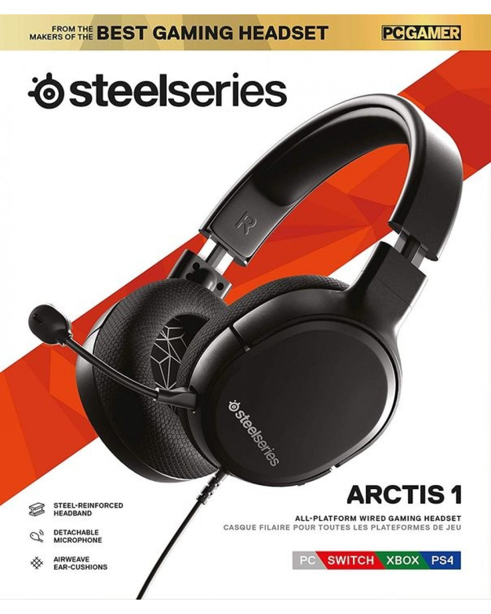 Slušalice Steelseries Arctis 1 - Black