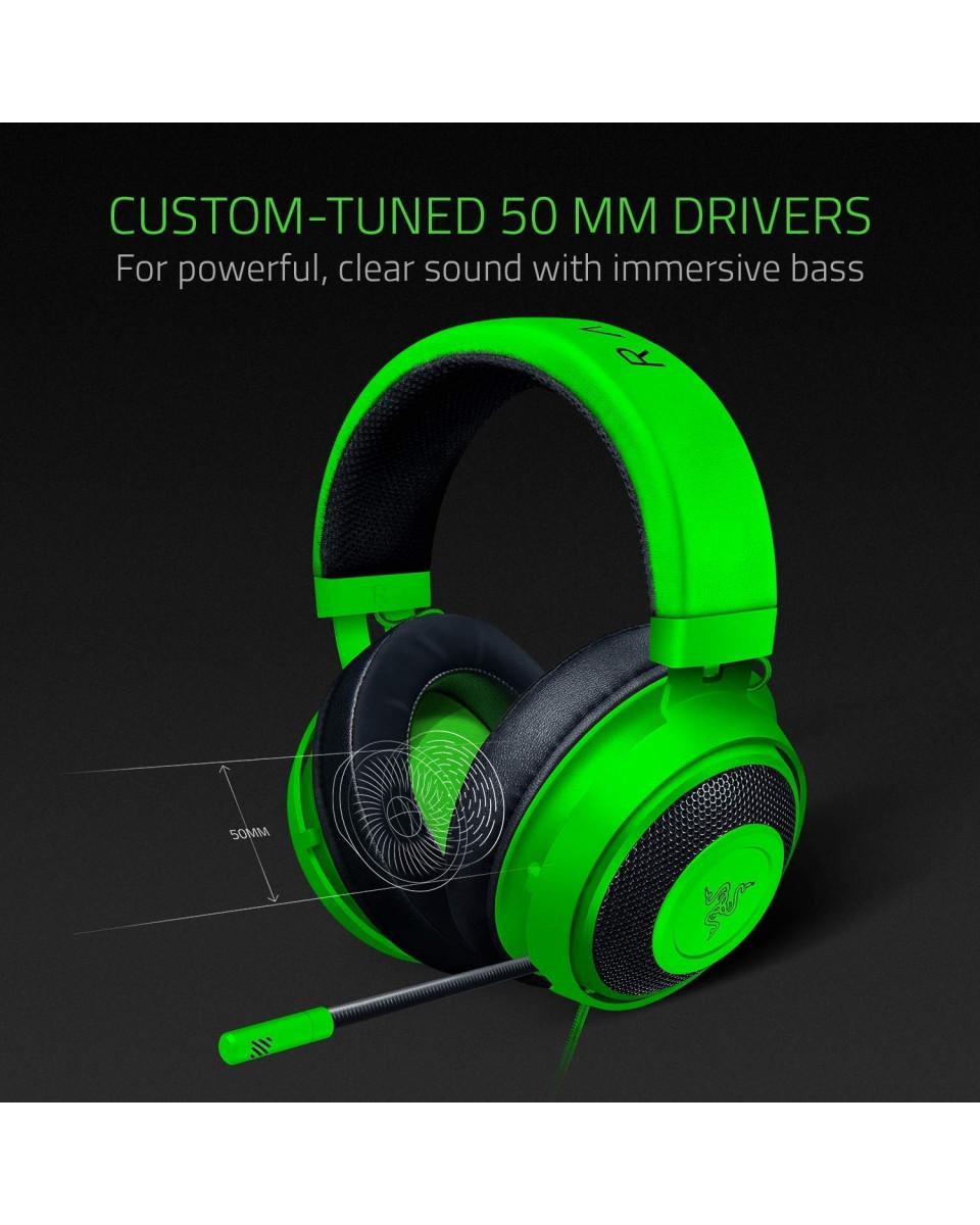 Slušalice Razer Kraken Oval Green