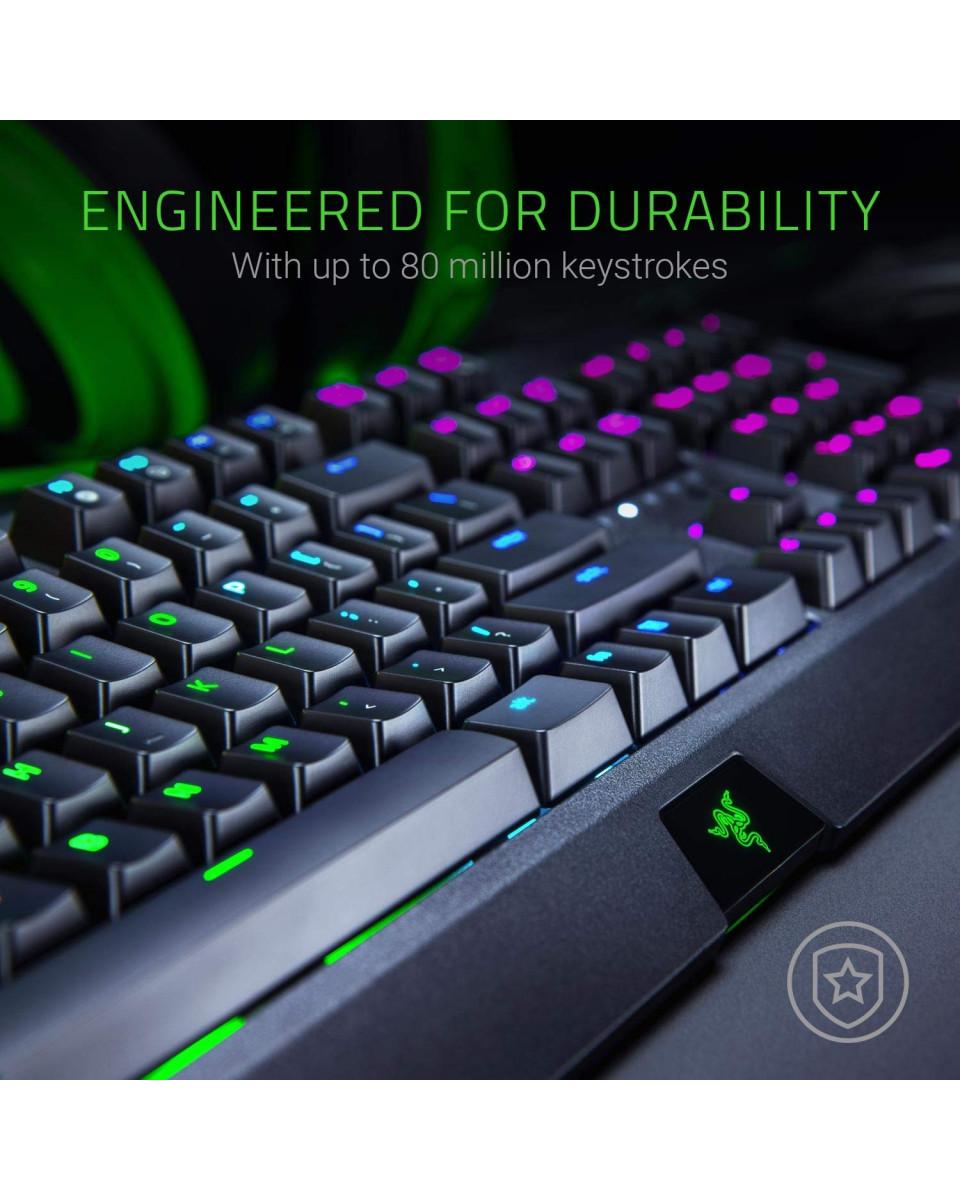 Tastatura Razer BlackWidow Mechanical - Green Switch