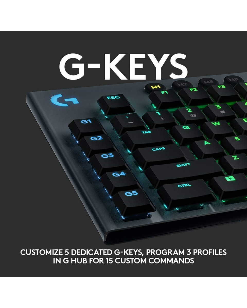 Tastatura Logitech G815 Lightspeed - GL Tactile