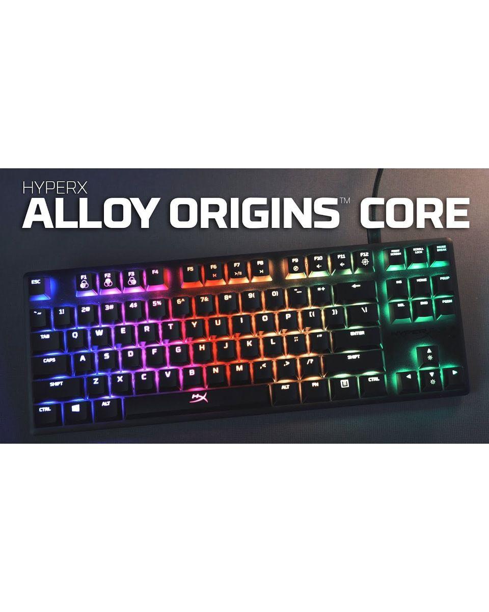 Tastatura HyperX Alloy Origins Core Red Linear