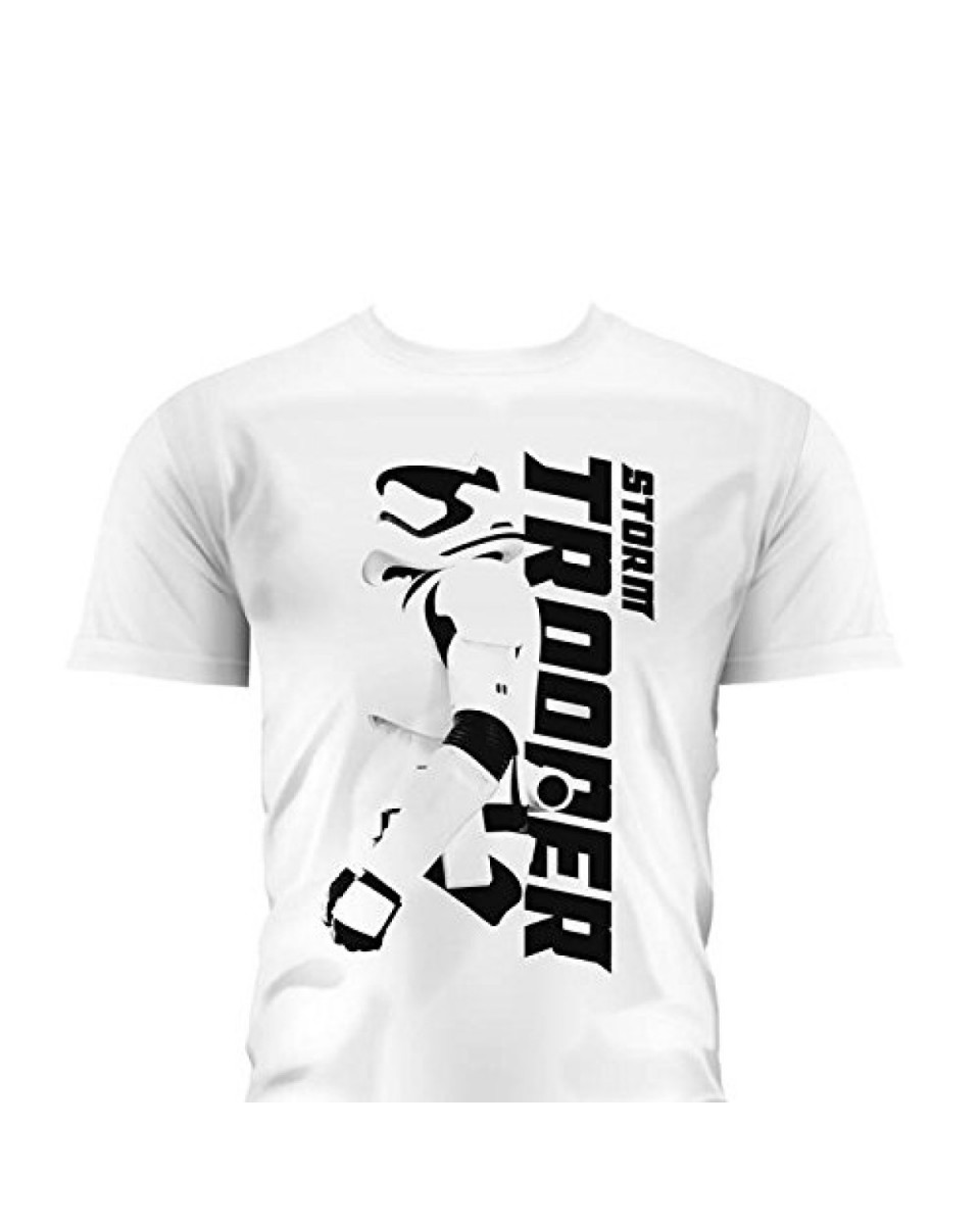 Majica Star Wars Boys - Stormtrooper Sideways White - M