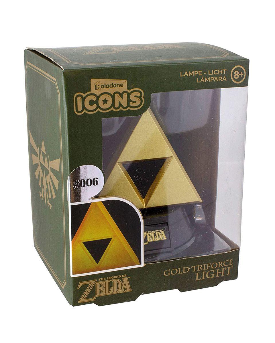 Lampa The Legend Of Zelda - 3D Icon Light Gold Triforce