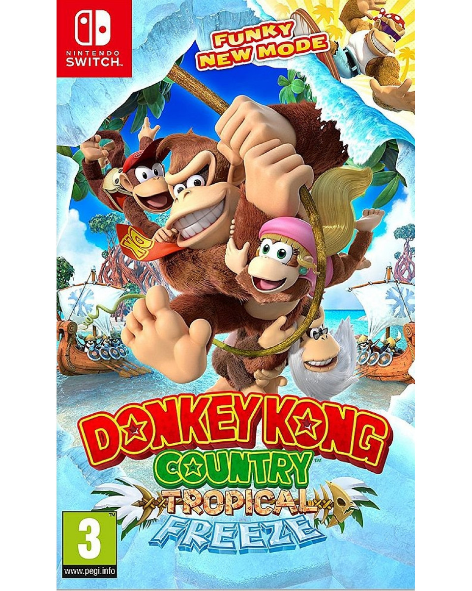Switch Donkey Kong - Country Tropical Freeze
