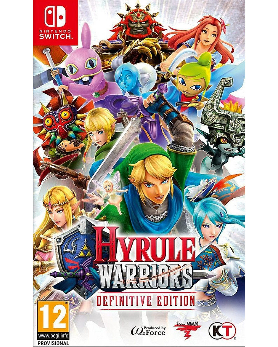 Switch Hyrule Warriors - Definitive Edition