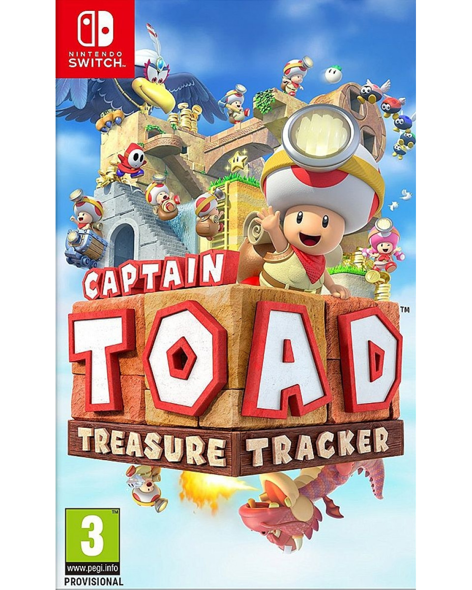 Switch Captain Toad - Treasure Tracker