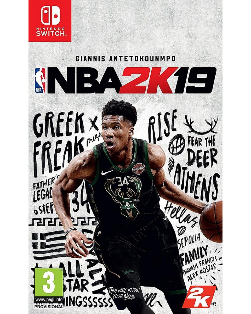 Switch NBA 2K19