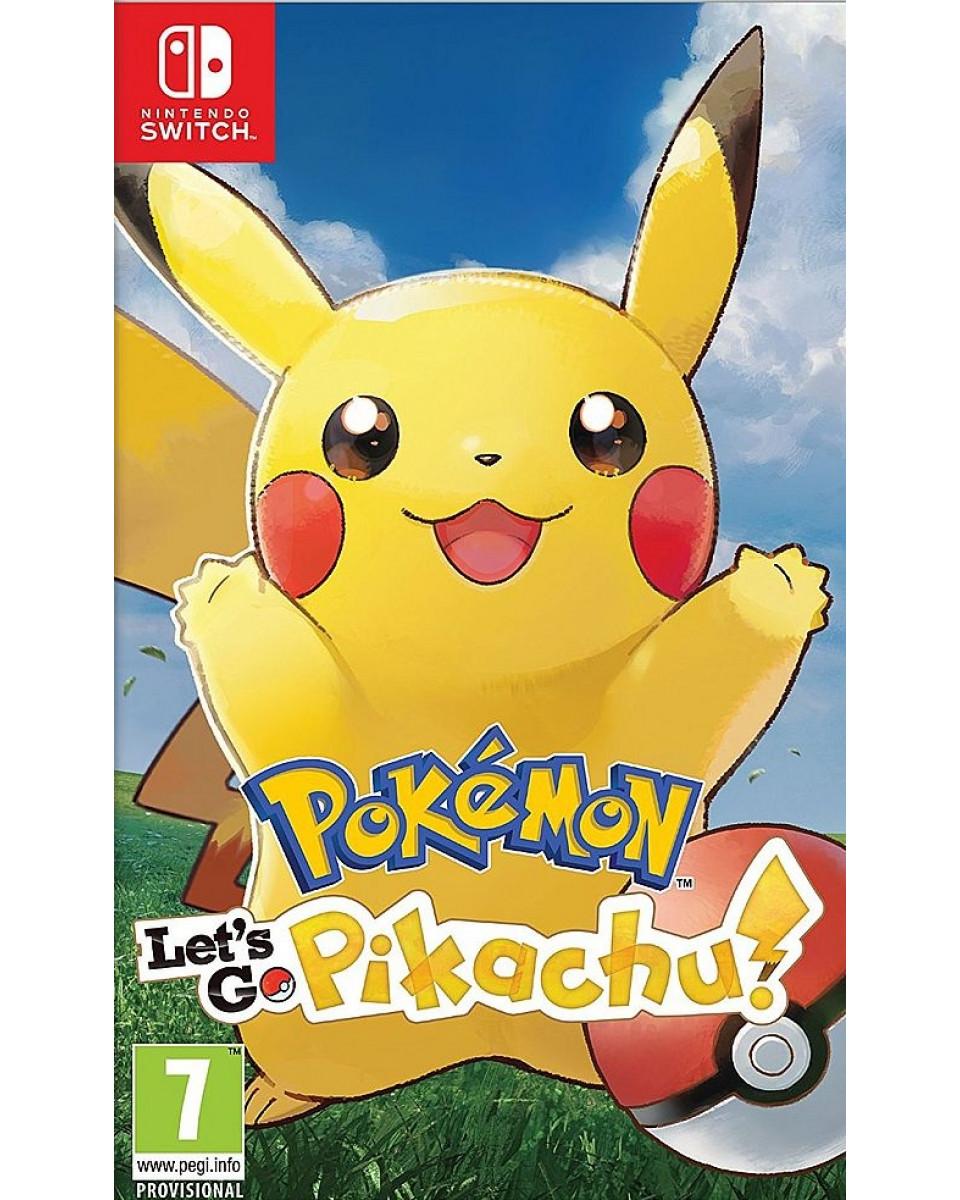 Switch Pokemon Let's Go - Pikachu