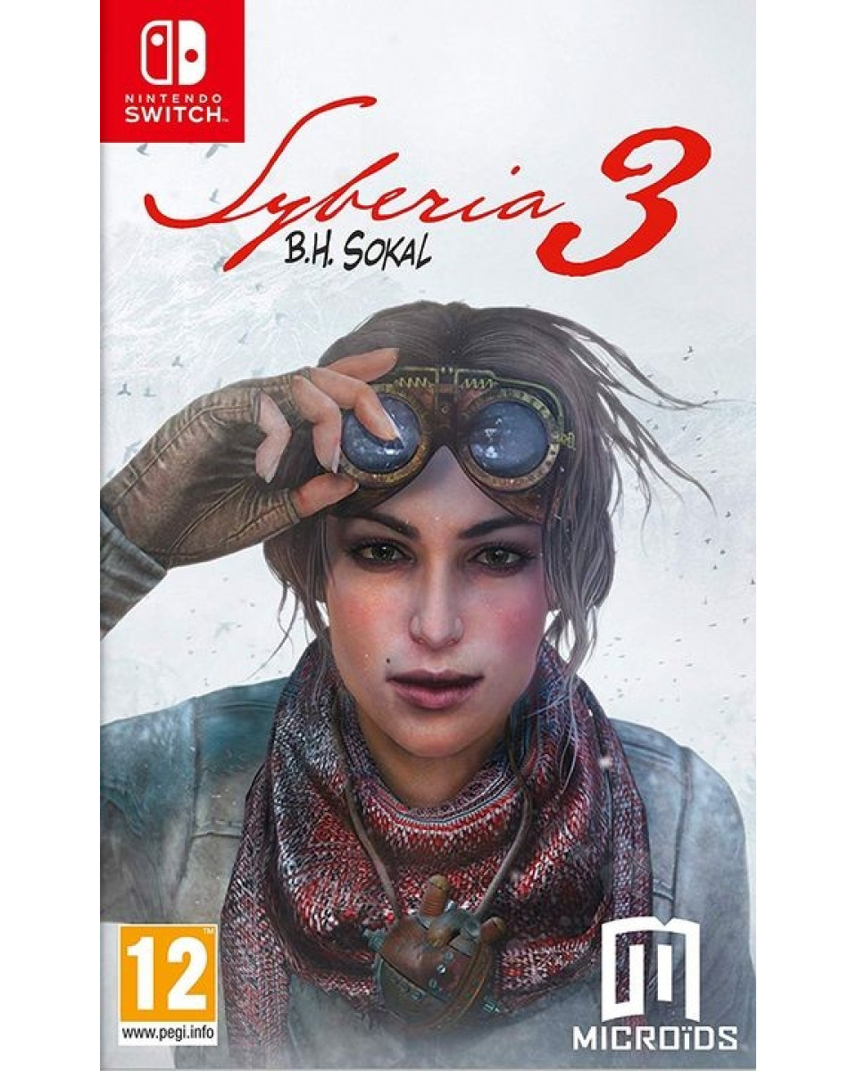 Switch Syberia 3