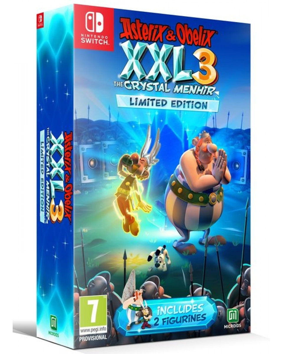 Switch Asterix & Obelix XXL 3 - The Crystal Menhir - Limited Edition