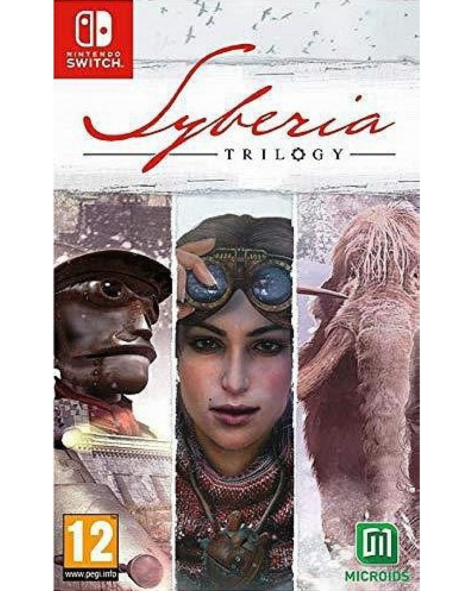 Switch Syberia Trilogy