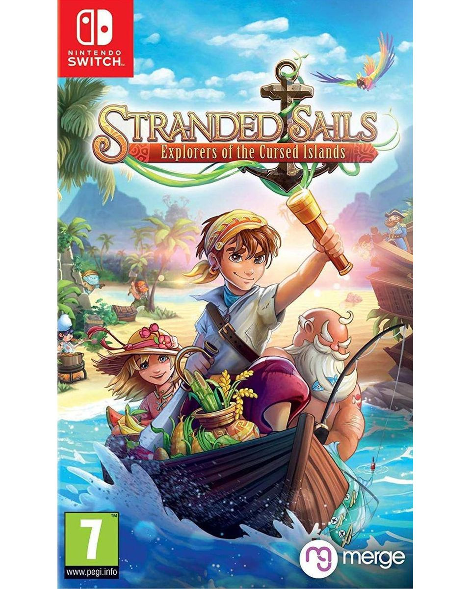 Switch Stranded Sails - Explorers of the Cursed Islands