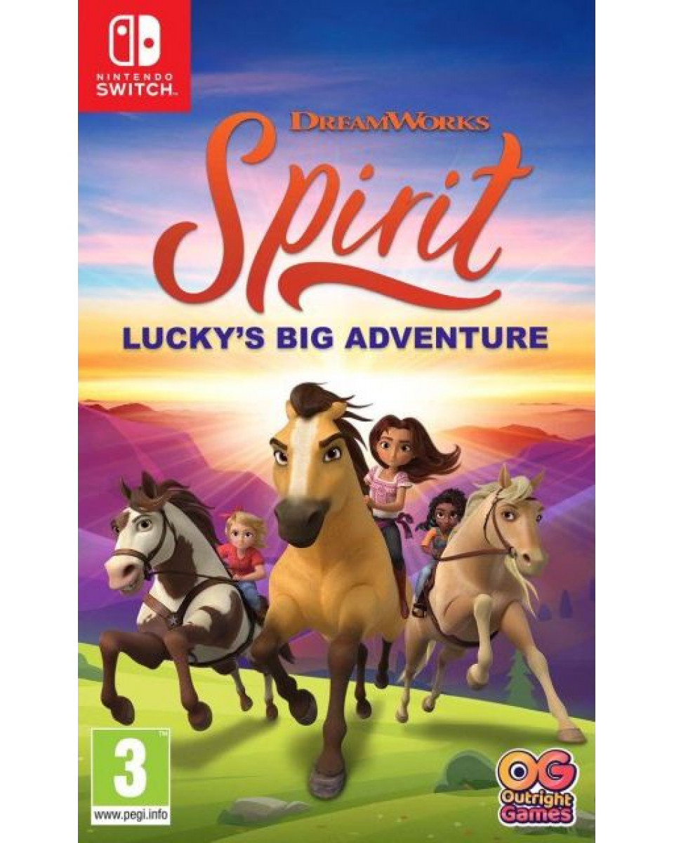 Switch Spirit - Lucky's Big Adventure