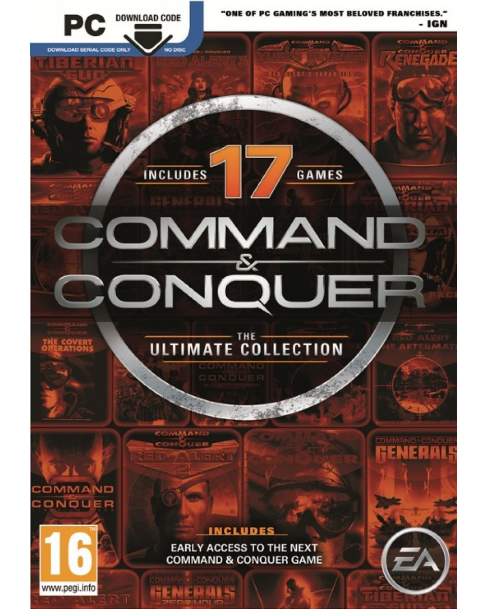 PCG Command & Conquer - The Ultimate Collection