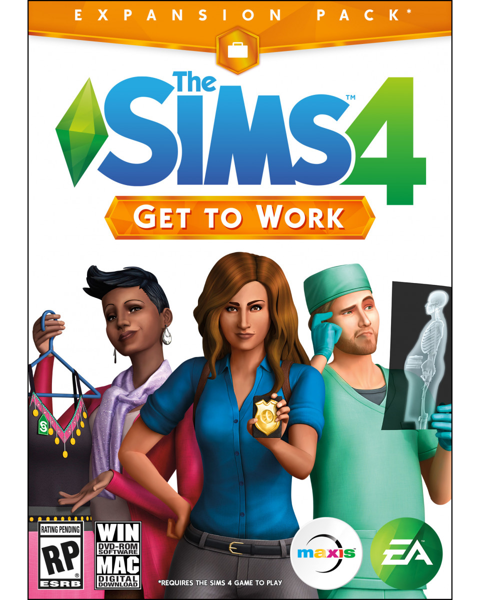 PCG The Sims 4 - Expansion Get To Work