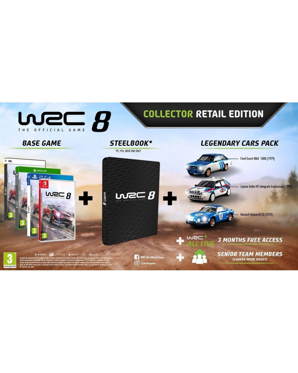 PCG WRC 8 - Collector Edition