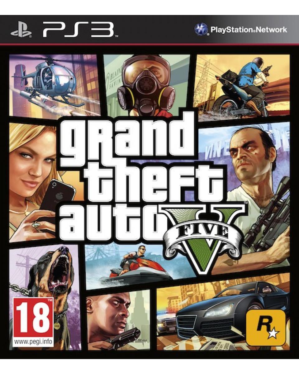 PS3 Grand Theft Auto 5 - GTA V