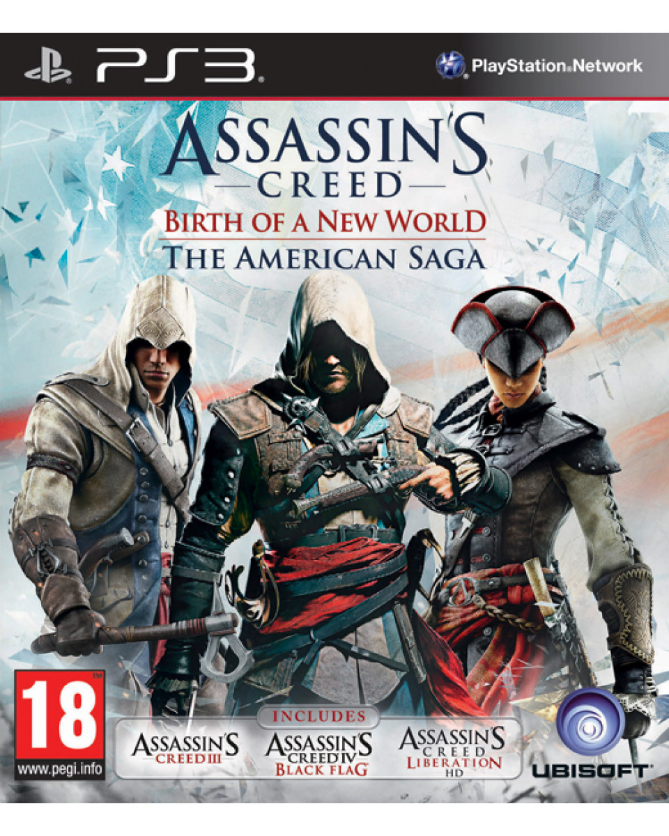 PS3 Assassin's Creed - Birth Of The New World - The American Saga
