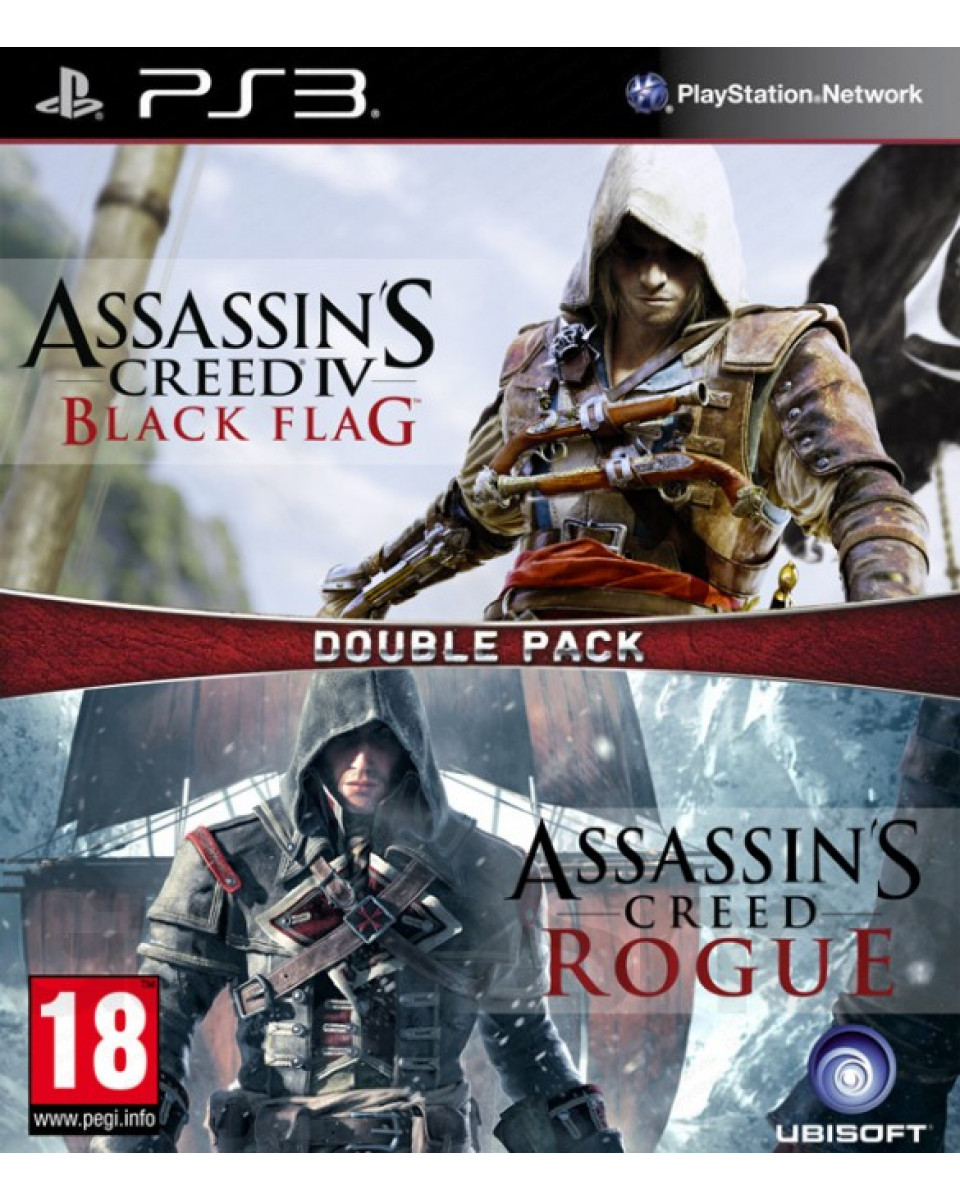 PS3 Assassin's Creed Double Pack - Black Flag + Rogue